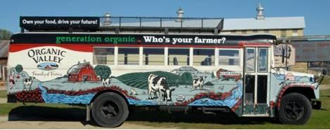 Generation Organic is teaching consumers about the benefits of organic products and showing their peers just how cool farming can be. (Photo credit: Generation Organic)