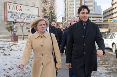 Trudeau and Notley