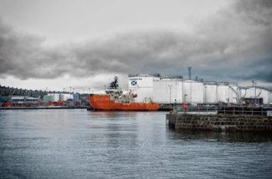Aberdeen harbor