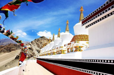 The_9_Stupas of Ladakh