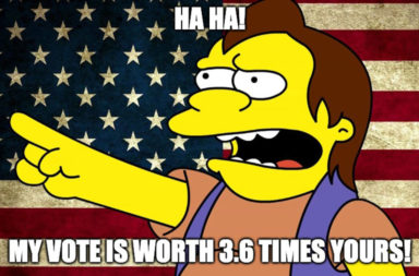 My vote is worth more than yours