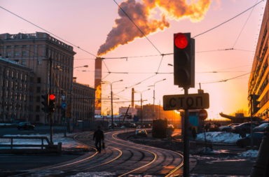 traffic in Moscow