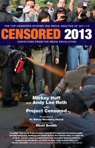 Project Censored 2013 cover